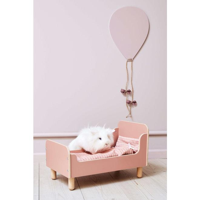 Houten Poppenbed Roze| Flexa