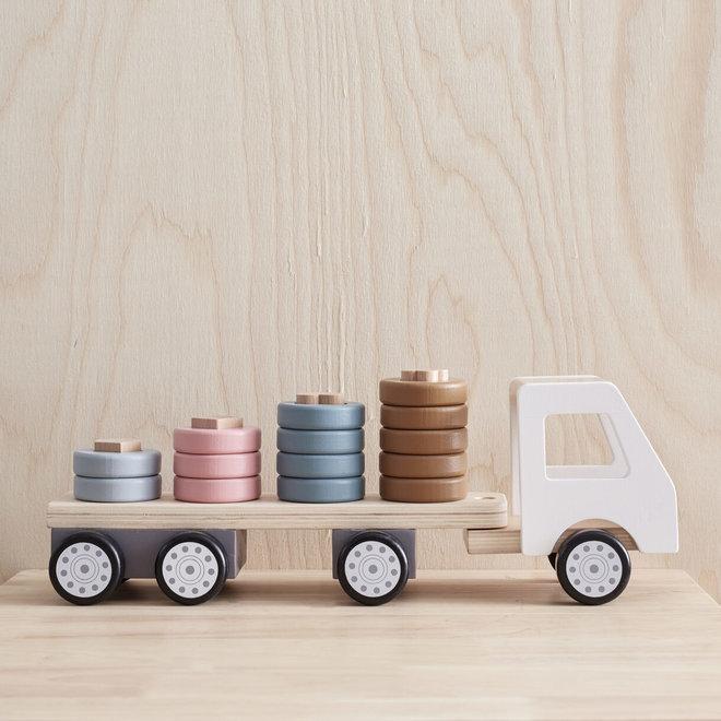 Vrachtwagen met ringen Aiden | Kid's Concept