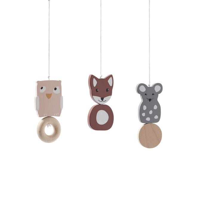 Babygym houten speelfiguren Edvin | Kid's Concept