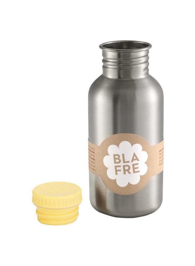Coole stalen drinkfles 500ml Geel | Blafre