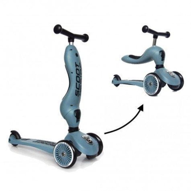 Scoot and Ride Step - Highwaykick 1- Steel | Scoot and Ride