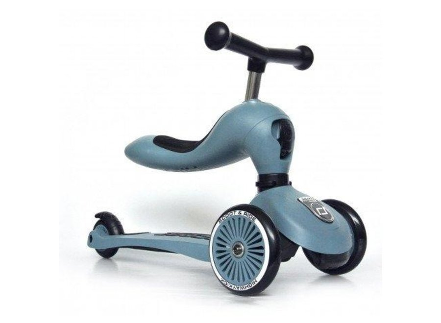 Step - Highwaykick 1- Steel | Scoot and Ride
