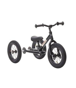 Trybike Trybike  Steel 2-1 loopfiets - All Black | Trybike