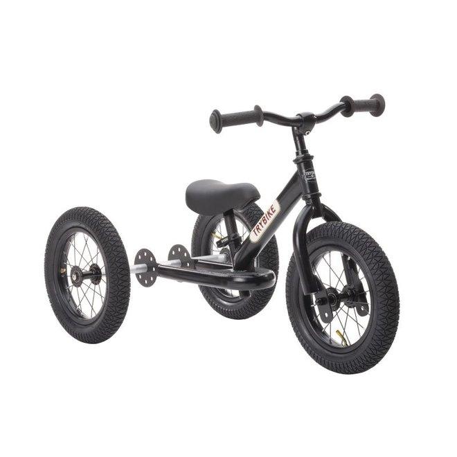 Trybike  Steel 2-1 loopfiets - All Black | Trybike