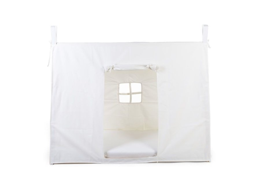 Tipi Bed Cover 70x140cm Wit   Childhome