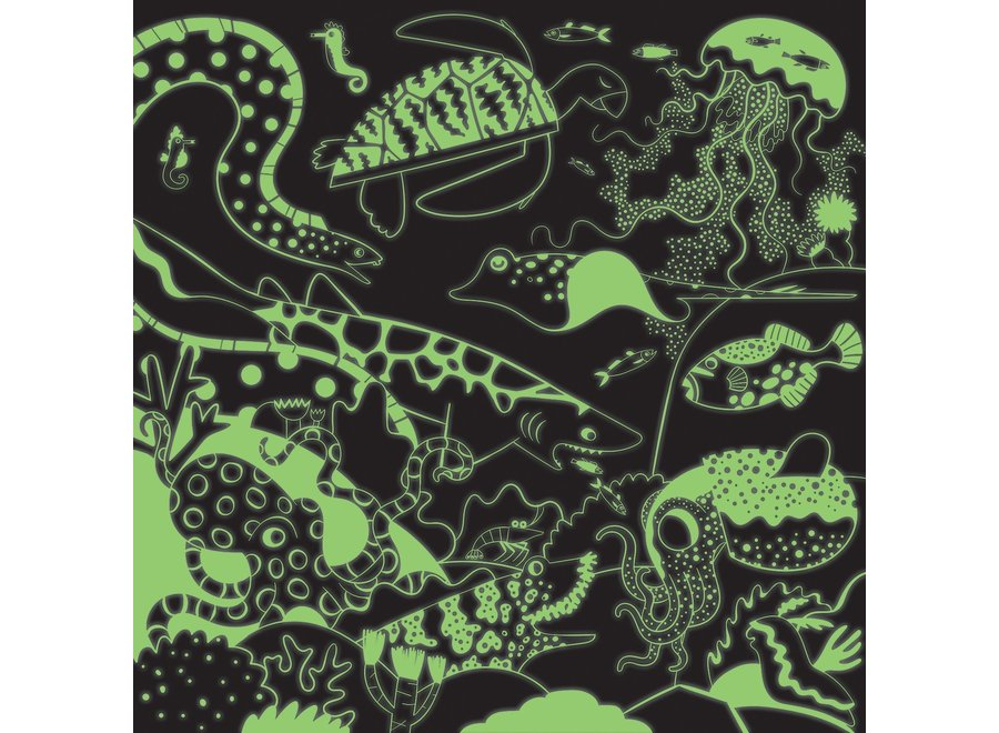 Ocean - Puzzel glow in the dark 500st | Mudpuppy