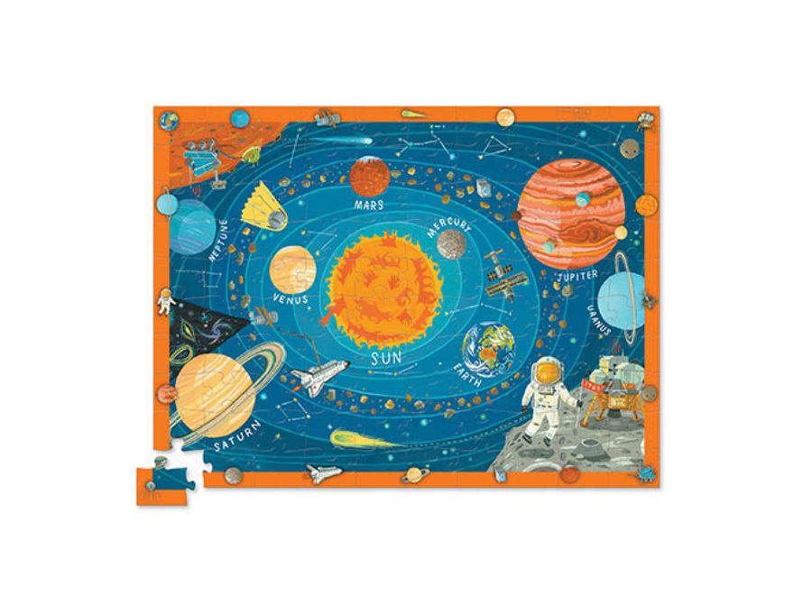 Discover Space Puzzel - 100st | Crocodile Creek