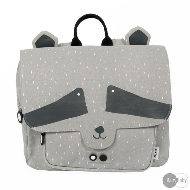 Kleuterboekentasje Mr. Raccoon | Trixie Baby