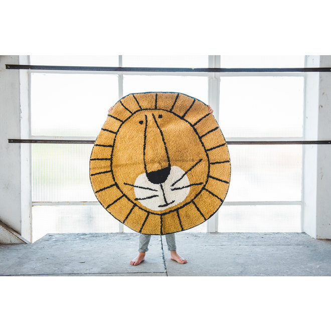 Tapijt Lion 100x100cm | Tapis Petit
