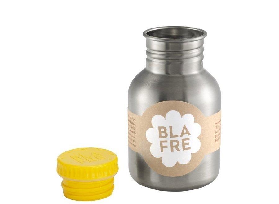 Coole stalen drinkfles 300ml Felgeel | Blafre