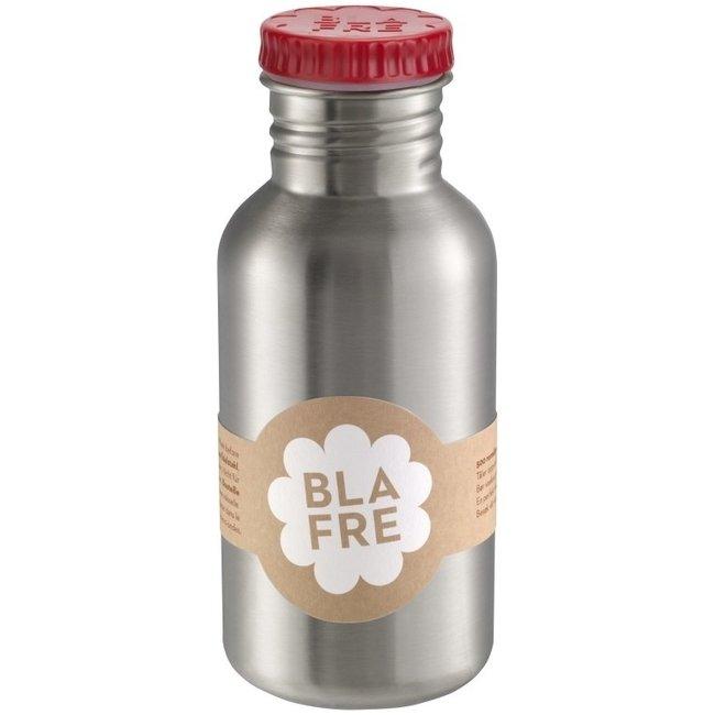 Blafre Coole stalen drinkfles 500ml Rood| Blafre