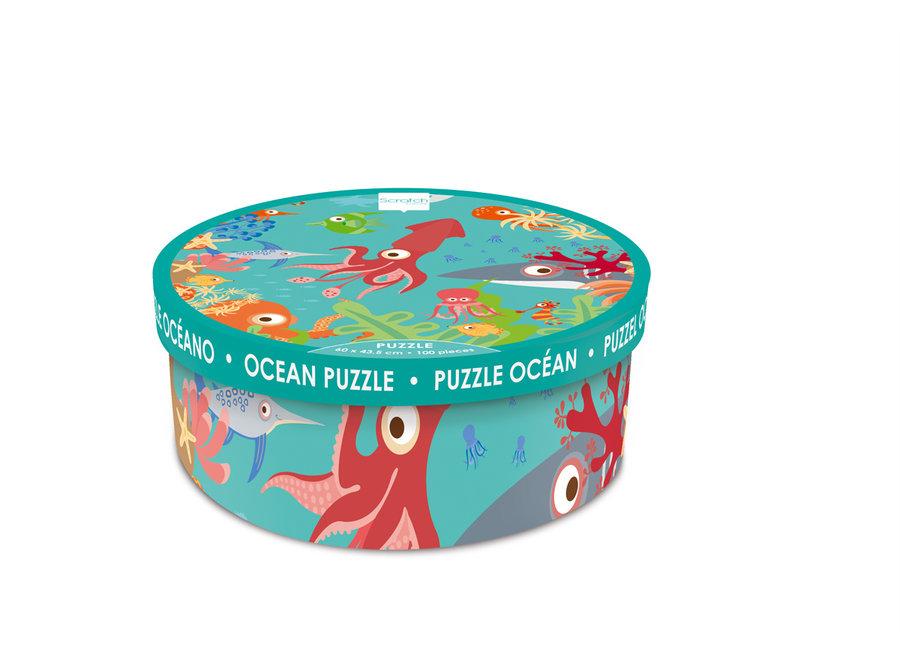 Oceaan Puzzel - 100st   Scratch