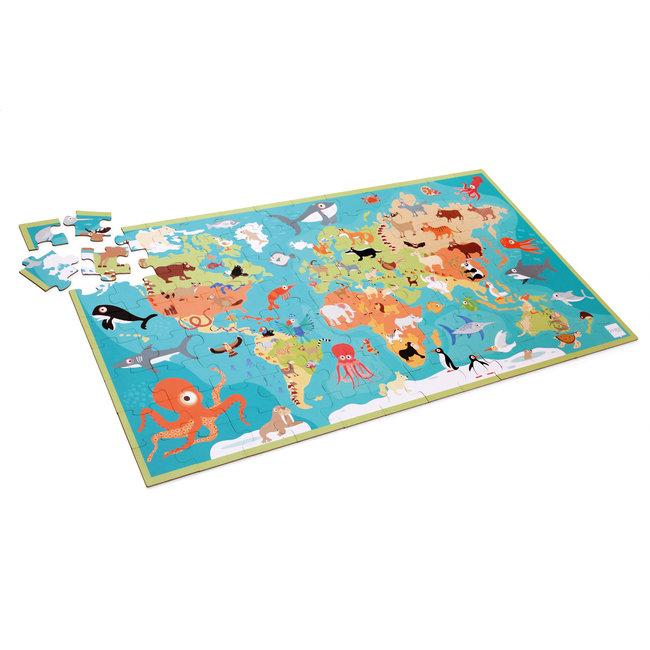 Scratch XXL Puzzel Dieren van de Wereld - 100st | Scratch