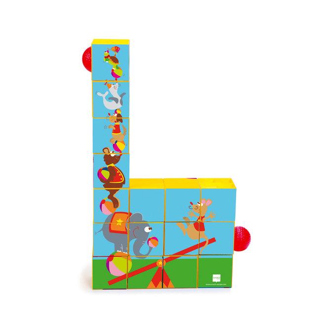 Blokkenpuzzel Roller Coaster | Scratch