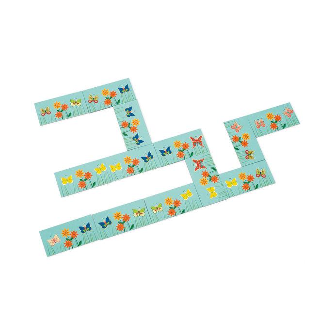 3-in-1 Vlinderspel - Visspel Domino & Memo | Scratch
