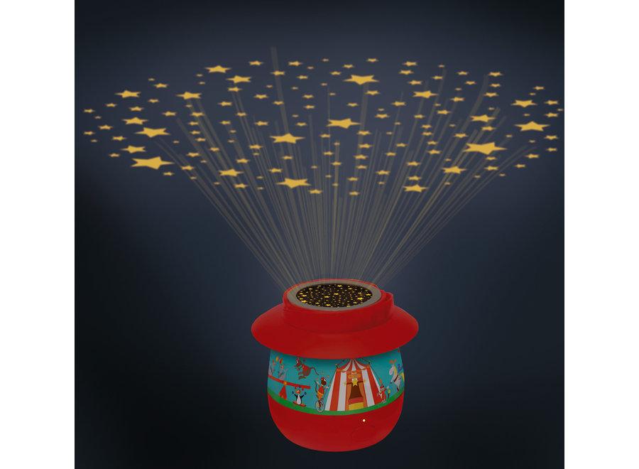 Projectie nachtlichtje - Circus | Scratch