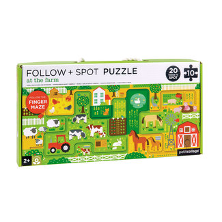 Petit Collage Boerderij puzzel - Zoek en vind - 10st | Petit Collage