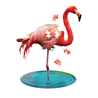 Madd Capp Flamingo puzzel - 100st | Madd Capp