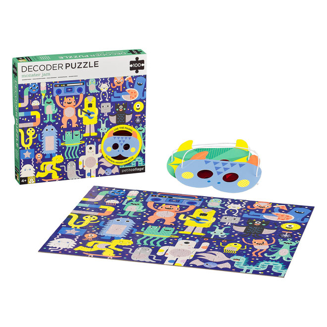 Zoekpuzzel Monster Jam - 100st | Petit Collage