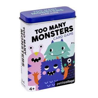 Petit Collage Kaartspel Monsters - Voor op reis | Petit Collage