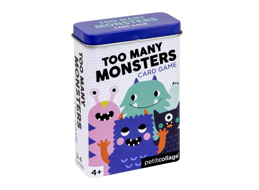 Kaartspel Monsters - Voor op reis | Petit Collage