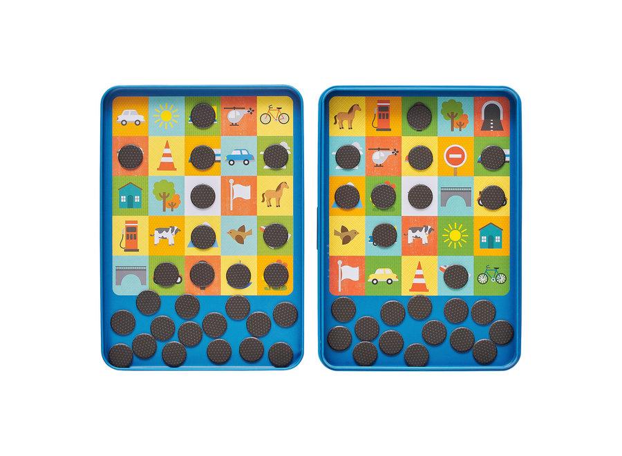 petit collage reisspel bingo petit collage - Nog meer leuke tips & spelletjes om je kinderen bezig te houden tijdens een lange autoreis, treinreis of vliegreis