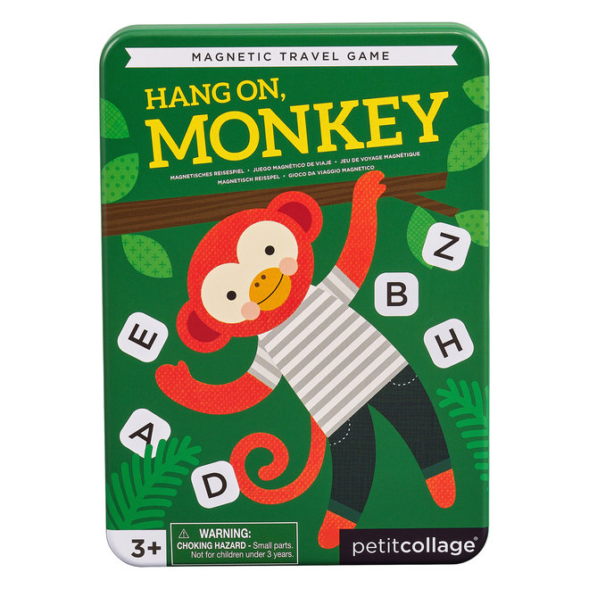 Reisspel Hang on Monkey   Petit Collage