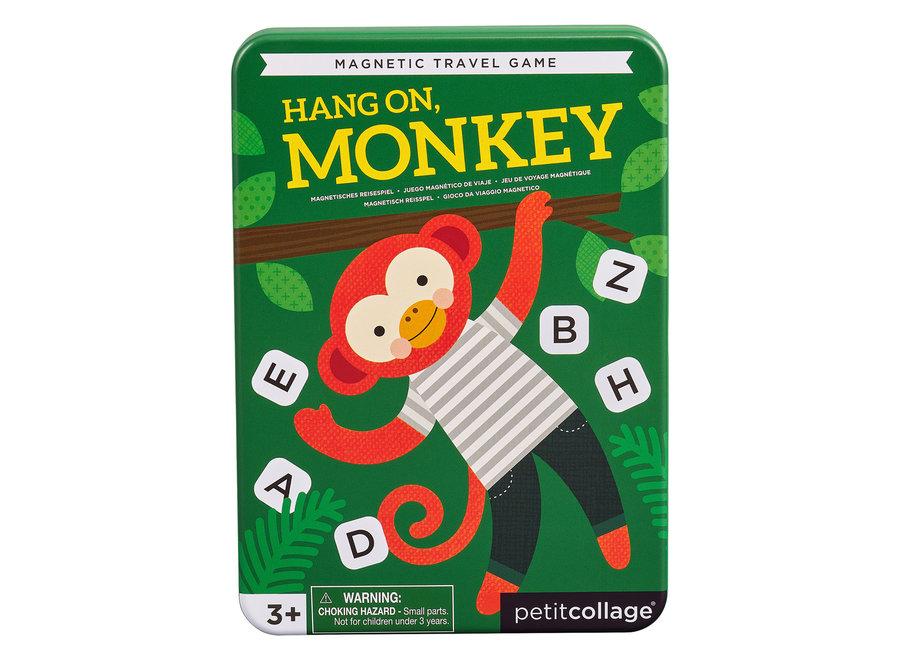 petit collage reisspel hang on monkey petit collag - Nog meer leuke tips & spelletjes om je kinderen bezig te houden tijdens een lange autoreis, treinreis of vliegreis