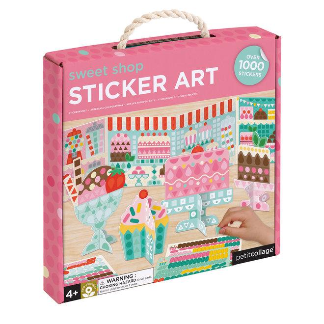 Stickerset - Snoepwinkel   Petit Collage