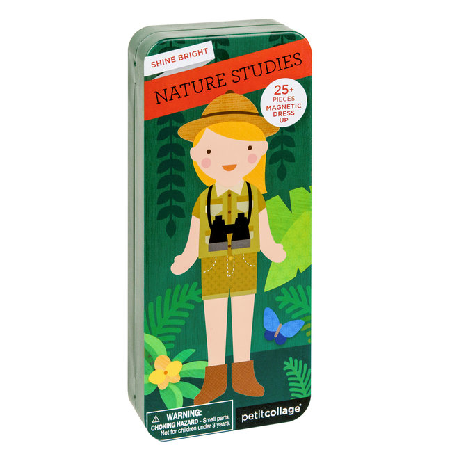 Magneetbox Dressup - In de natuur | Petit Collage