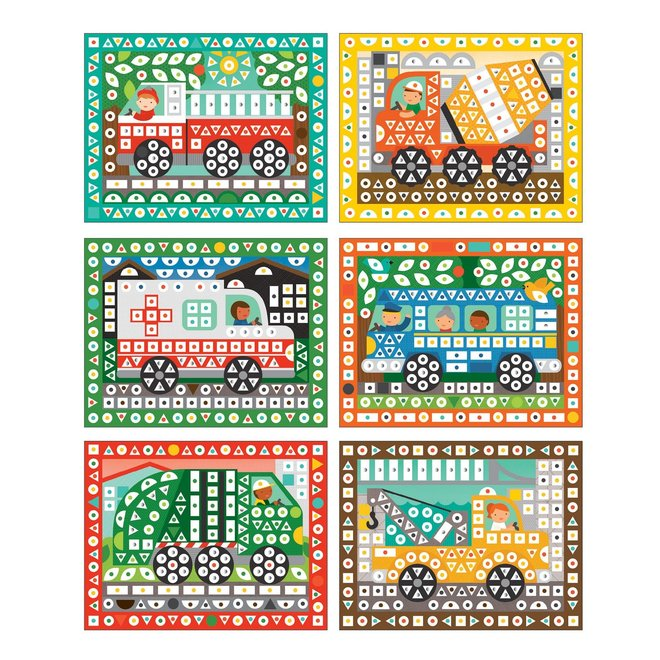 Stickerset - Op weg | Petit Collage