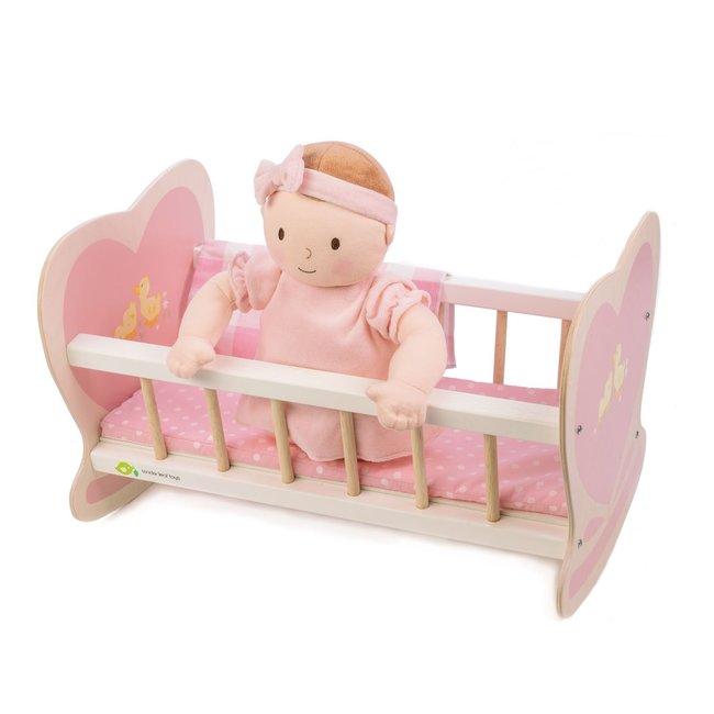 Houten Poppenbed Sweetiepie   Tender Leaf Toys
