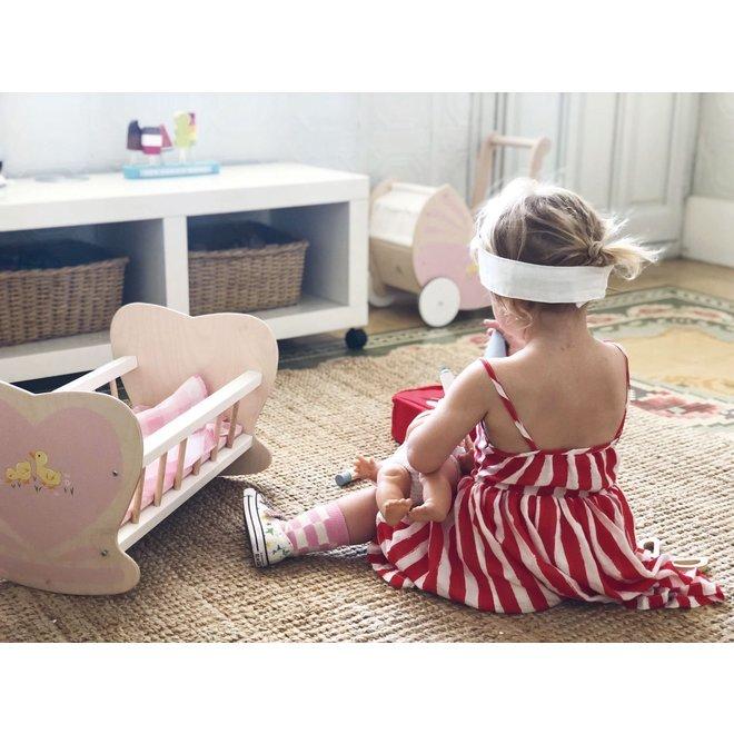 Houten Poppenbed Sweetiepie | Tender Leaf Toys