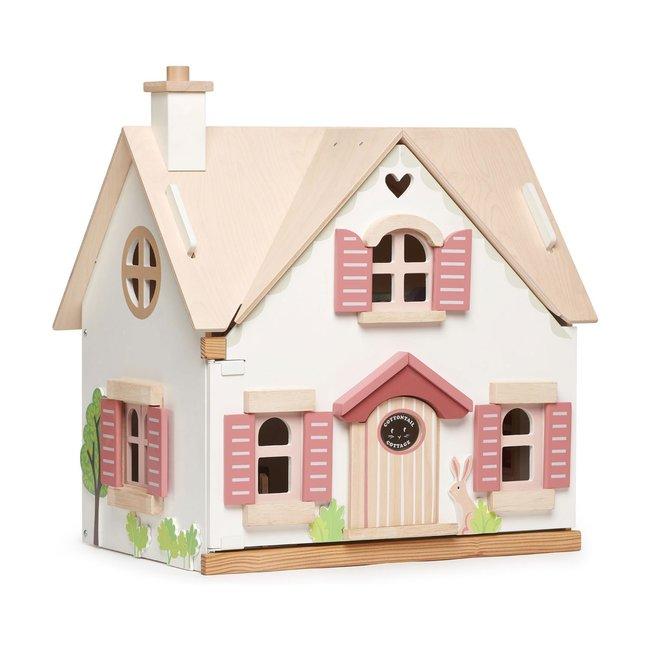 Tender Leaf Toys Houten Poppenhuis 'Cottentail' | Tender Leaf Toys
