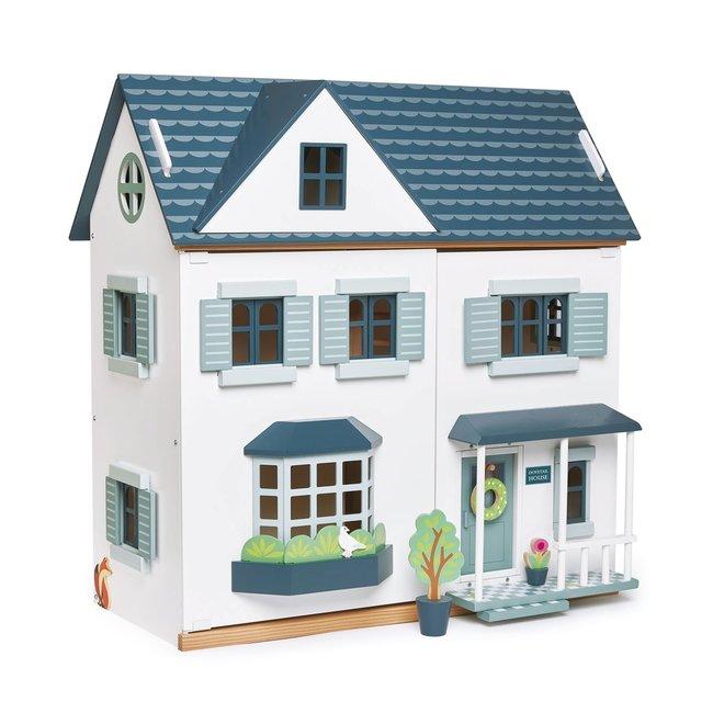 Houten Poppenhuis 'Dovetail' | Tender Leaf Toys