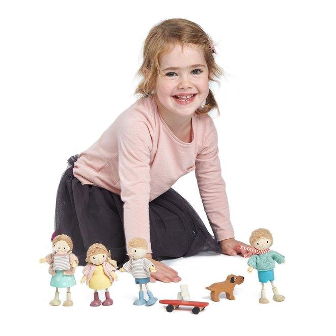 Popje Mevr. Goodwood en baby | Tender Leaf Toys