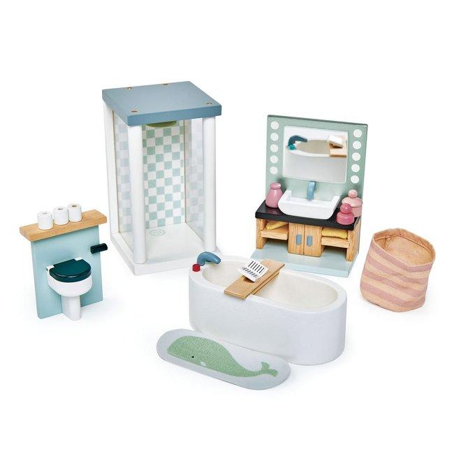 Meubeltjes Badkamer – Poppenhuis   Tender Leaf Toys