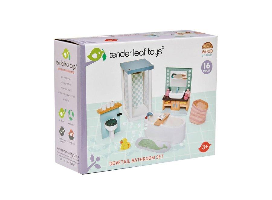 Meubeltjes Badkamer – Poppenhuis | Tender Leaf Toys