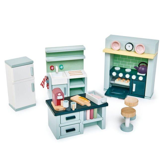 Meubeltjes Keuken – Poppenhuis   Tender Leaf Toys