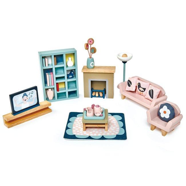 Tender Leaf Toys Meubeltjes Woonkamer – Poppenhuis | Tender Leaf Toys