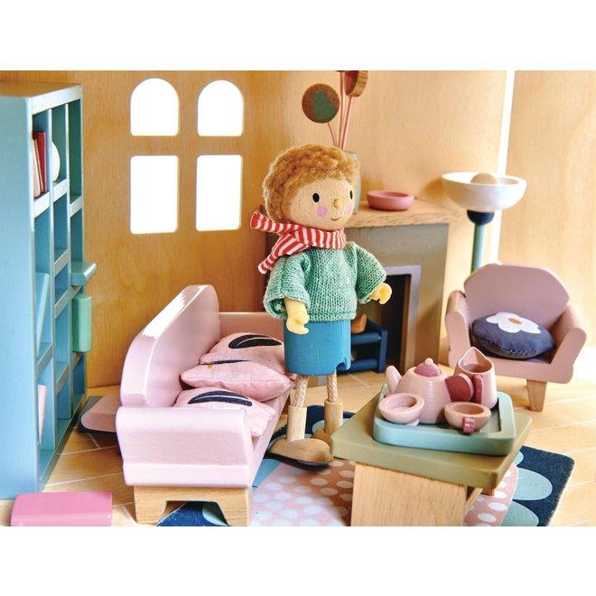 Meubeltjes Woonkamer – Poppenhuis | Tender Leaf Toys