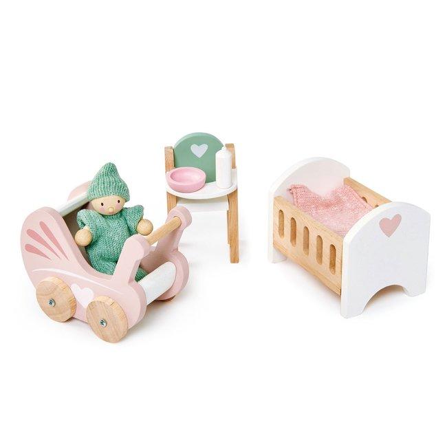Meubeltjes Babykamer – Poppenhuis   Tender Leaf Toys