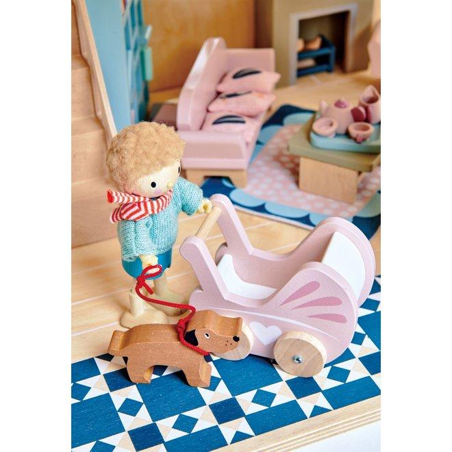 Meubeltjes Babykamer – Poppenhuis | Tender Leaf Toys