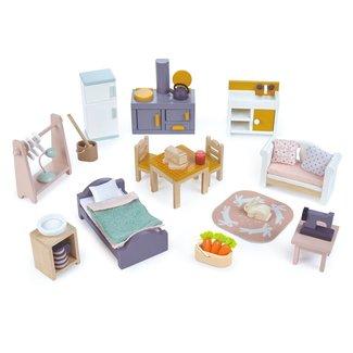 Tender Leaf Toys Meubelsetje Countryside – Poppenhuis | Tender Leaf Toys