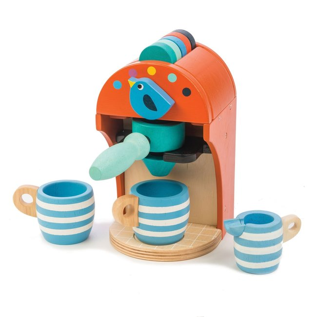 Houten Espresso Machine | Tender Leaf Toys