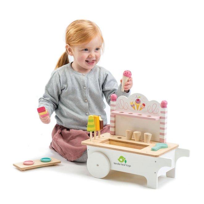 Houten Ijskarretje | Tender Leaf Toys