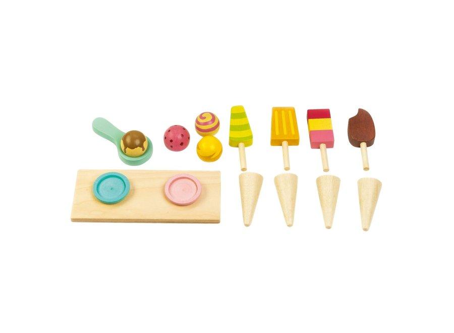 Houten Ijskarretje   Tender Leaf Toys