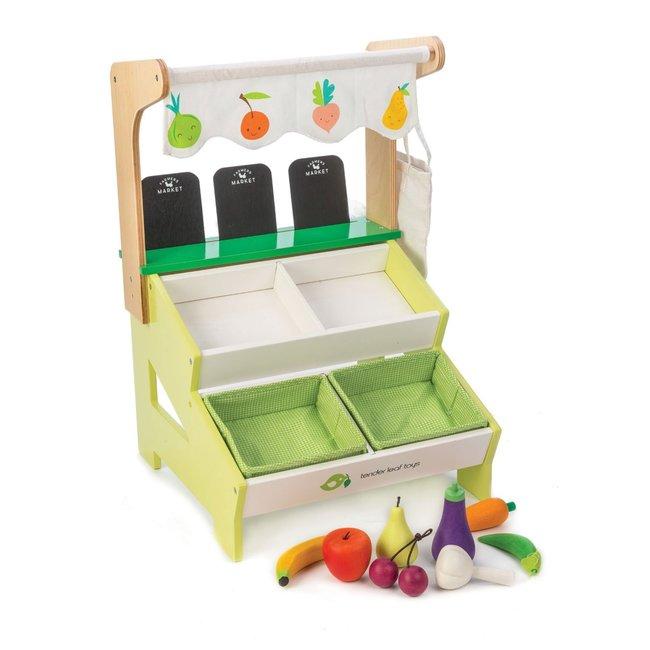 Houten Marktkraampje   Tender Leaf Toys