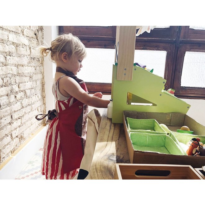 Houten Marktkraampje | Tender Leaf Toys