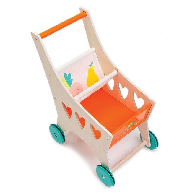 Houten winkelwagentje | Tender Leaf Toys